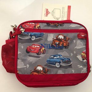 Gray Red Pixar Cars, Cold Pack Nikolas Lunch Box
